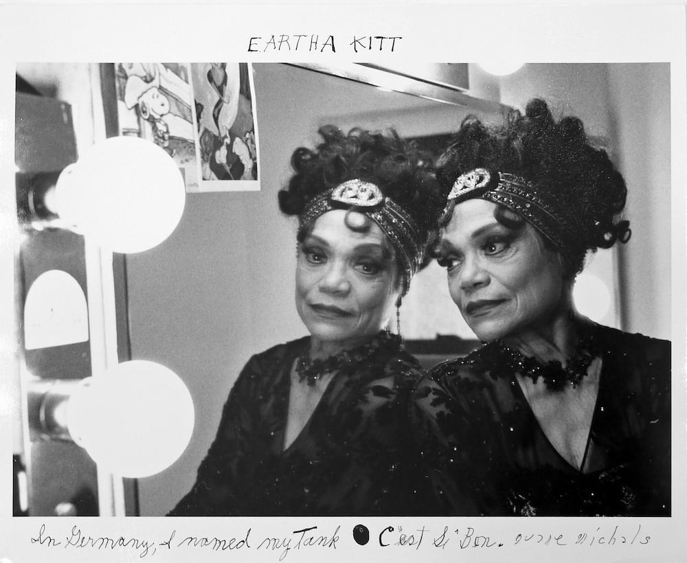 "Eartha Kitt, ""C'est Si Bon"" - PHOTO © DUANE MICHALS, COURTESY OF DC MOORE GALLERY, NEW YORK"