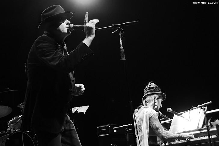 David J and Vinsantos at the Plaza Live - JEN CRAY