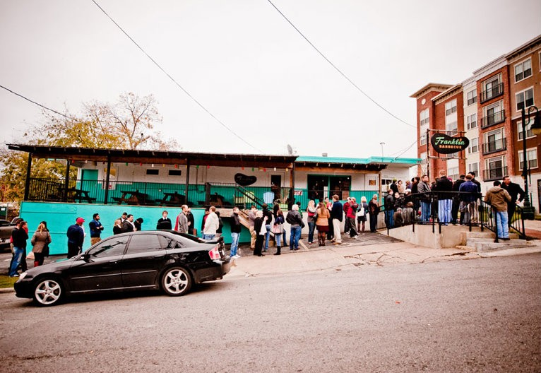 Franklin Barbecue, in Austin, Texas, is said to have one of the country's longest waits – hungry patrons' average time on line is four or five hours. - PHOTO VIA FRANKLIN BARBECUE