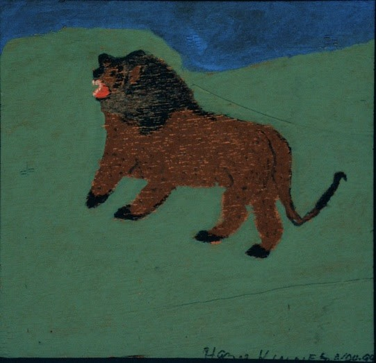 "HAZEL KINNEY, ""LION,"" ON LOAN FROM CJ WILLIAMS COLLECTION"