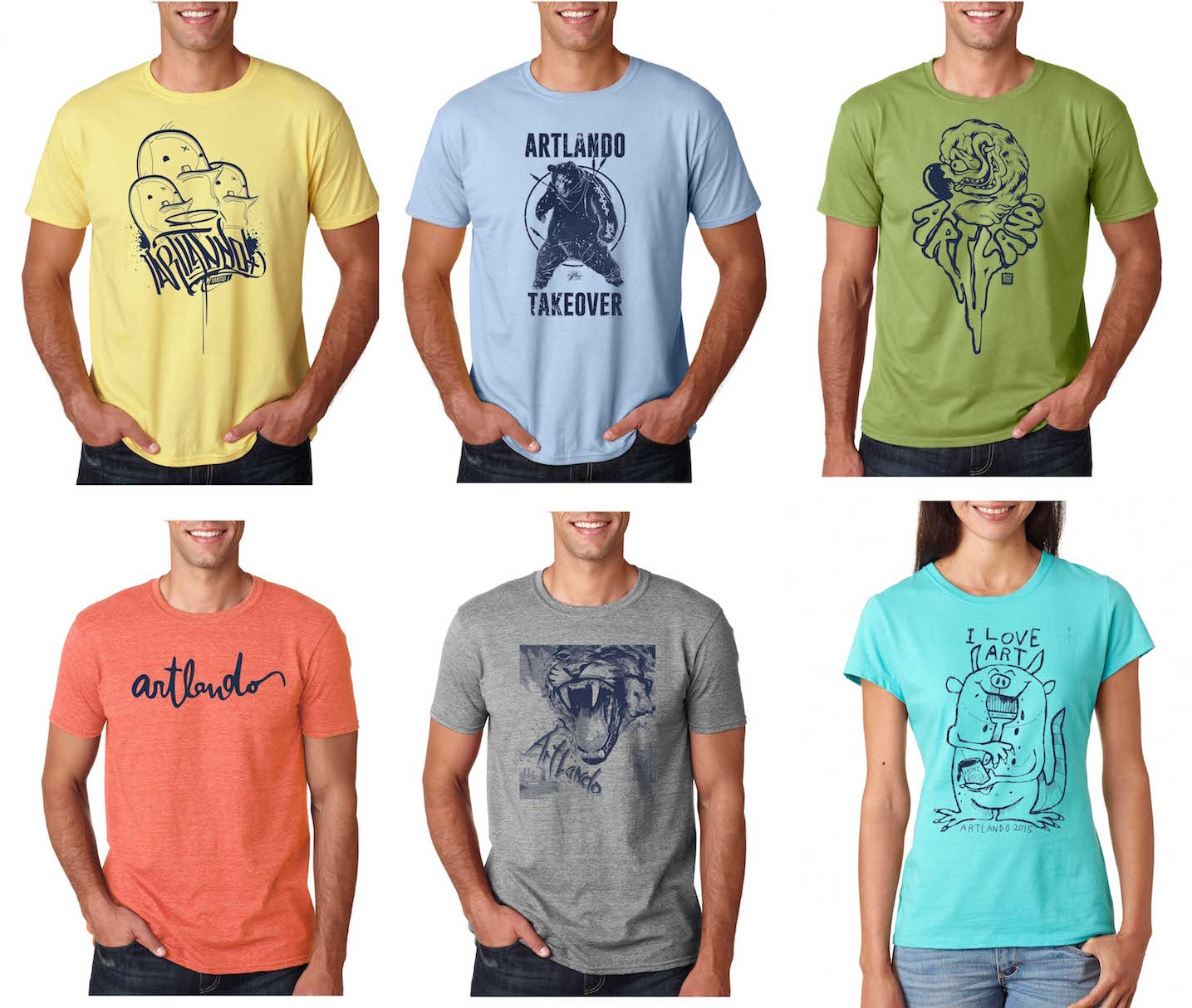 Why Have Just One Artlando T Shirt When You Could Have 36 Different