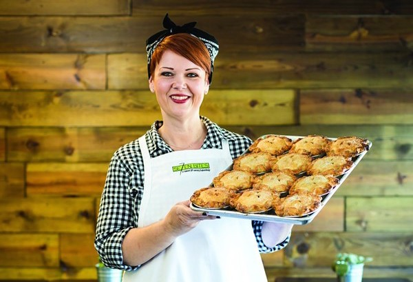 Trina Gregory-Propst, chef-owner of Se7en Bites Bakery - PHOTO BY ROB BARTLETT