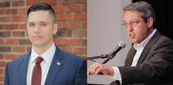 Augustus Sol Invictus (left) and Adrian Wyllie (right). - PHOTO VIA AUGUSTUS SOL INVICTUS WEBSITE AND WWSB ABC 7