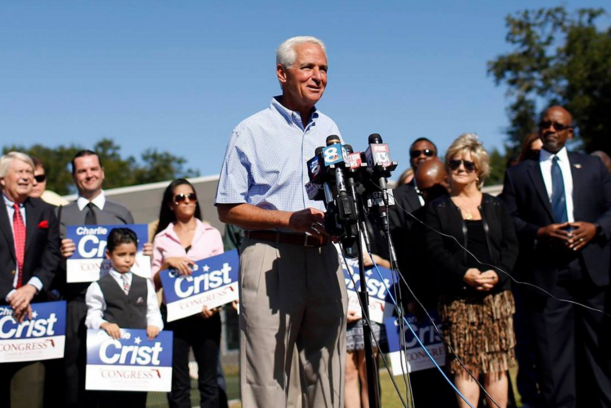 PHOTO VIA CHARLIE CRIST'S FACEBOOK PAGE