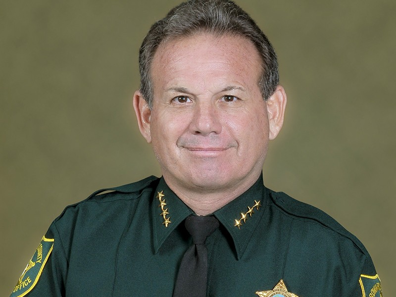 Broward County Sheriff Scott Israel - PHOTO VIA BROWARD COUNTY SHERIFF'S OFFICE