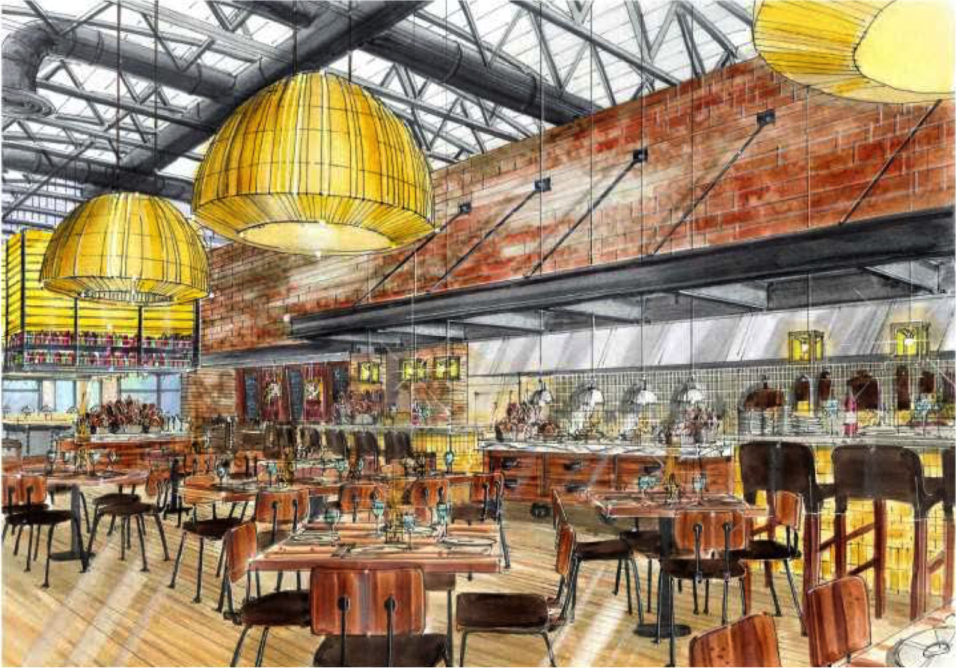 Canvas restaurant and market paints a pretty picture in for Fresh fish market orlando