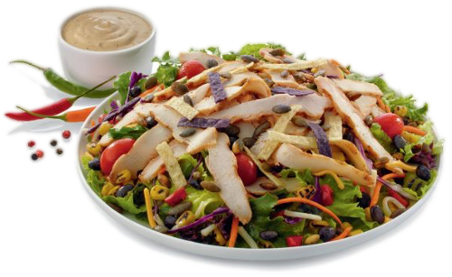 Spicy Southwest Salad - PHOTO VIA CHICK-FIL-A