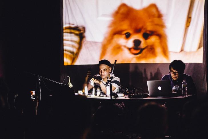 ucnv and Makoto Oshiro at the MultipleTap Tour (Will's Pub) - JAMES DECHERT