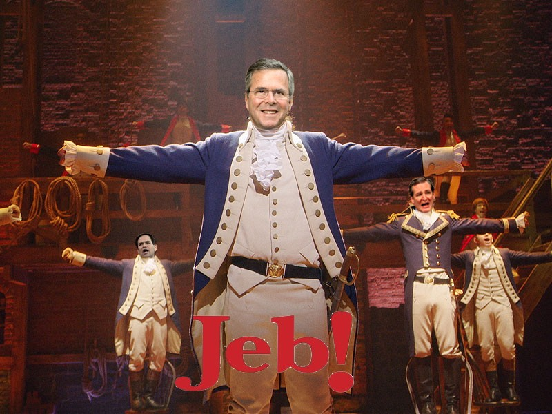 "PHOTO COURTESY OF ""JEB! THE MUSICAL"""