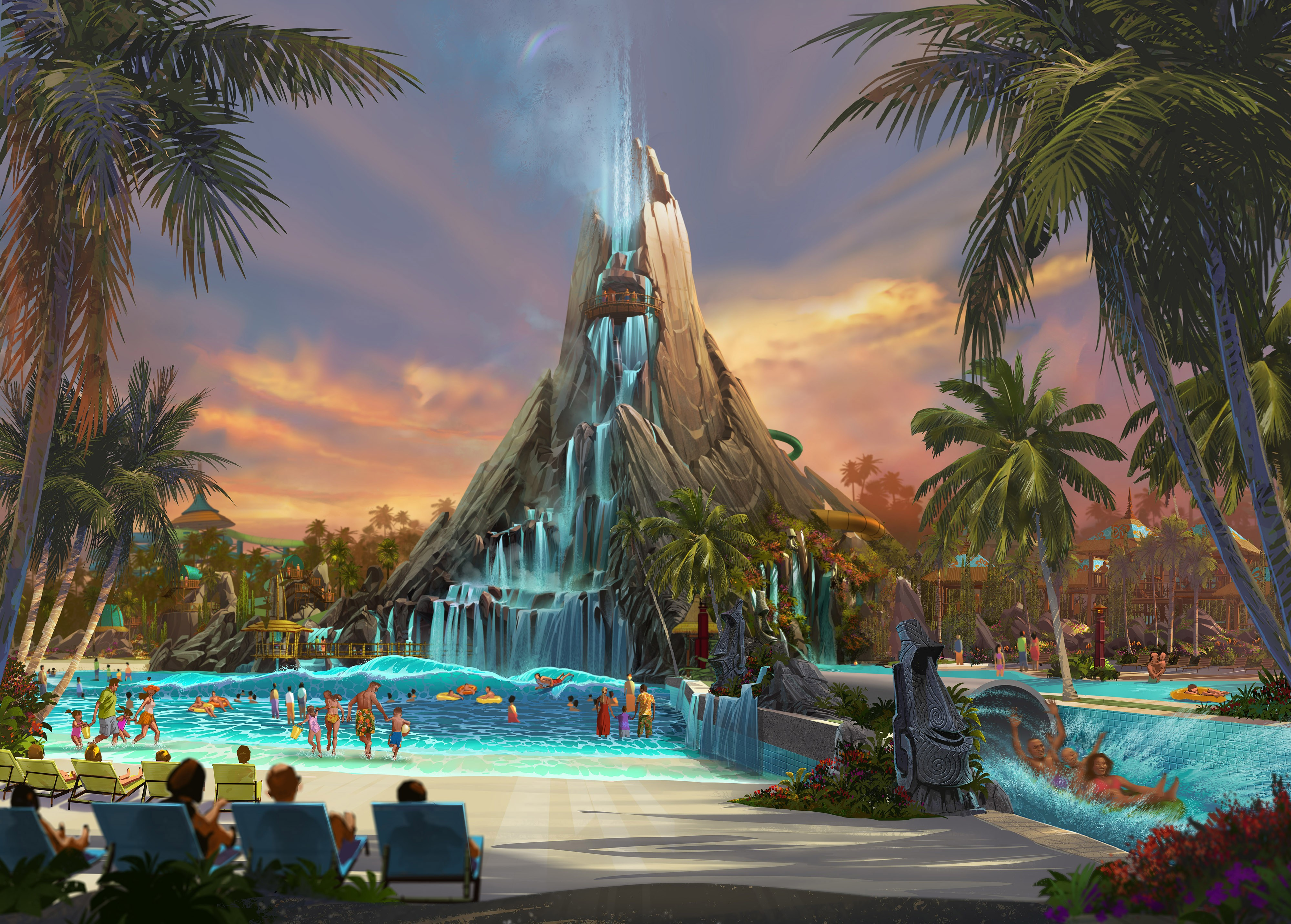 Universal's Volcano Bay is opening in less than a year, here's ...