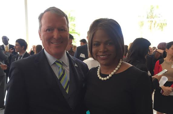 PHOTO PROVIDED BY VAL DEMINGS' CAMPAIGN