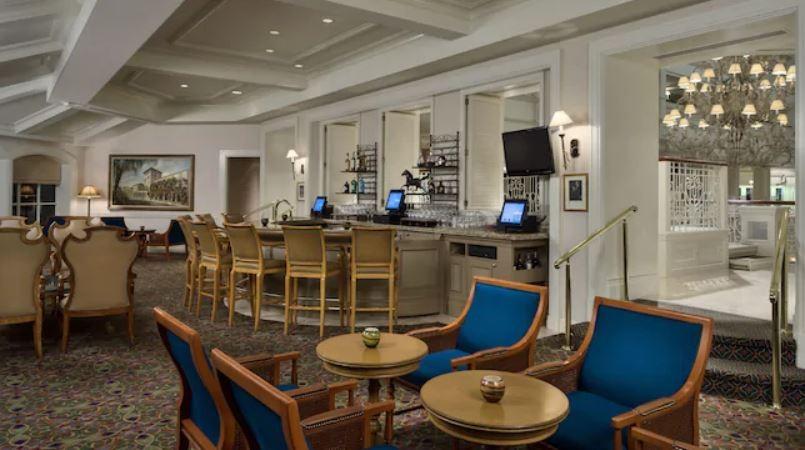 Mizner's Lounge at the Grand Floridian - PHOTO VIA DISNEY