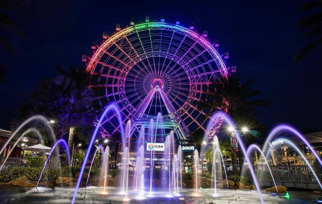 Orlando Eye gets a name change to 'The Wheel' and a new food hall