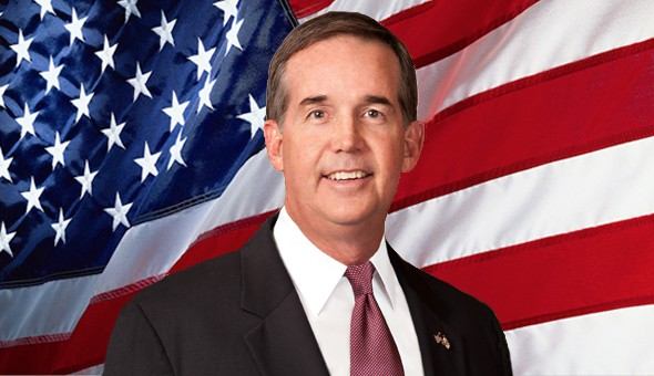 "Florida CFO Jeff Atwater says, ""This is not exactly the superlatives-of-the-class character candidates."" - PHOTO VIA VOLUSIA COUNTY REPUBLICANS"
