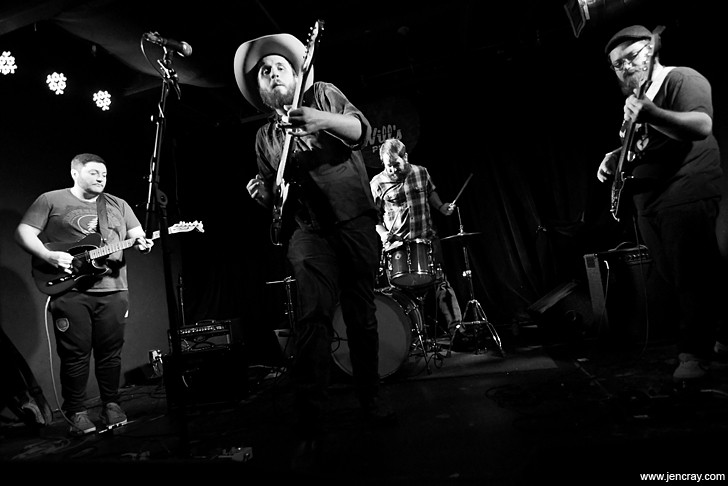 Wes Morrison & the Stray Hares - JEN CRAY