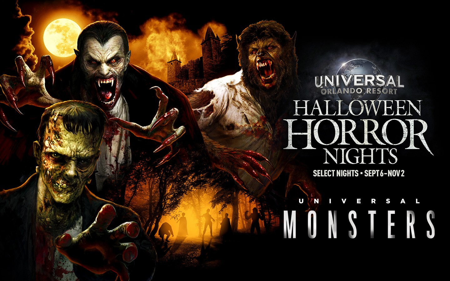 Image result for HHN classic monsters house