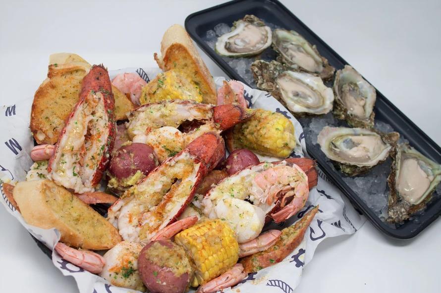 Lobster Lover for 2 - PHOTO VIA MELBOURNE SEAFOOD STATION