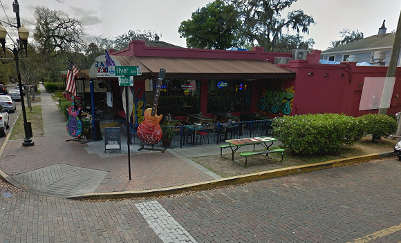 There are no official photos of Felipe Rodriguez Tequila House yet, but here's the space back when it was Graffiti Junktion. - SCREENSHOT VIA GOOGLE MAPS