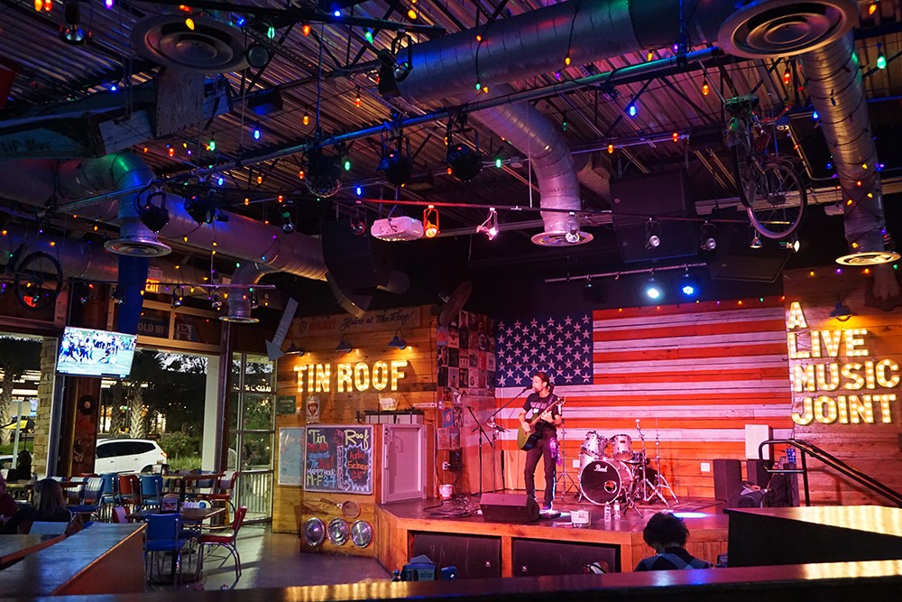 If You Re Stuck In Touristan And Need A Reprieve Tin Roof