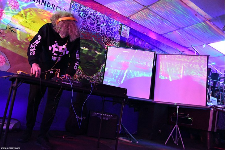 PolyKarp at Illuminated Paths showcase (Uncle Lou's) - JEN CRAY
