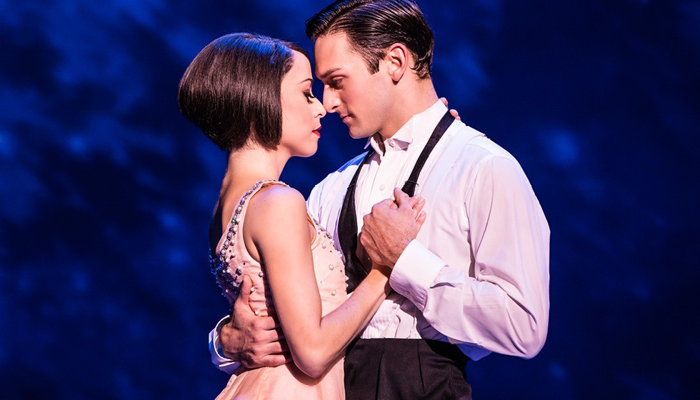 Garen Scribner and Sara Esty in 'An American In Paris,' through Dec. 18 at the Dr. Phillips Center - PHOTO COURTESY BROADWAY ACROSS AMERICA