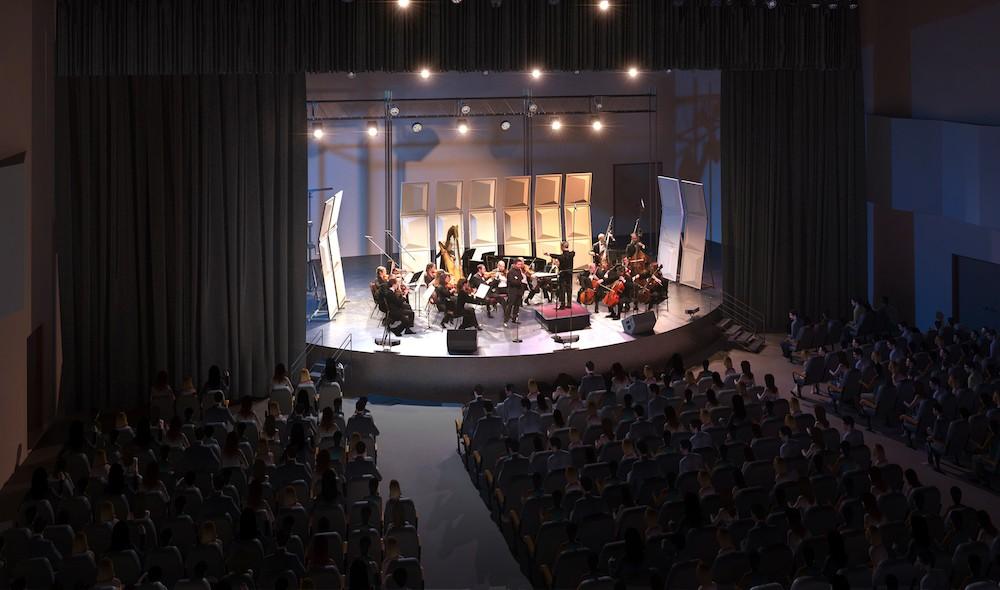 The Orlando Phil - IMAGE OF PLAZA LIVE STAGE VIA ORLANDO PHILHARMONIC