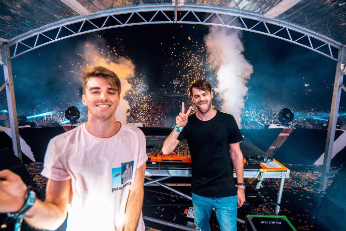 PHOTO VIA THE CHAINSMOKERS/INSTAGRAM