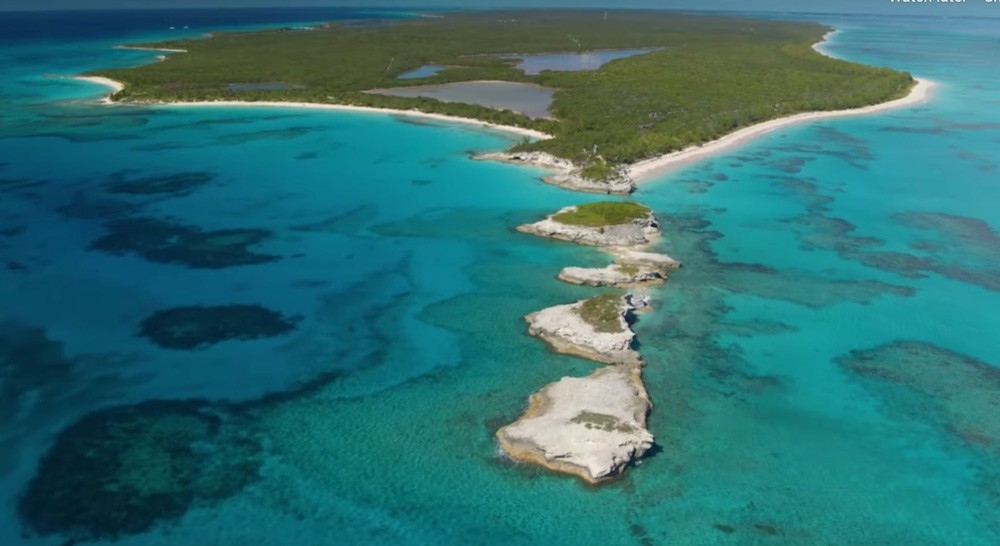 Lighthouse Point on the island of Eleuthera, Bahamas - SCREEN GRAB IMAGE VIA DISNEY PARKS BLOG / YOUTUBE