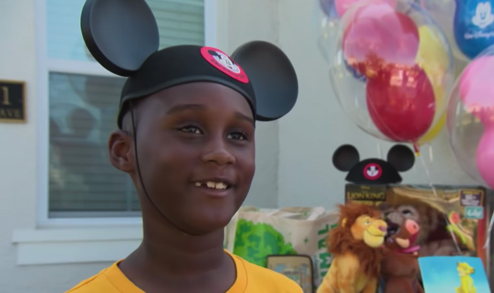 Florida boy who donated his Disney savings to Hurricane