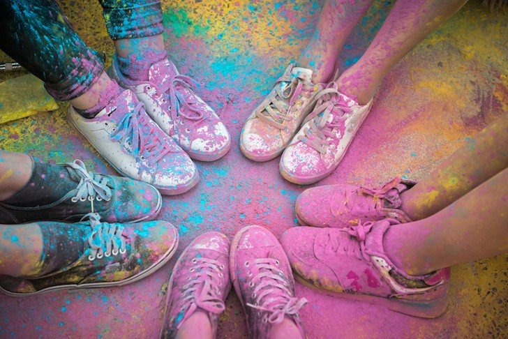 The Color Run returns to Osceola Heritage Park with plenty of pigment
