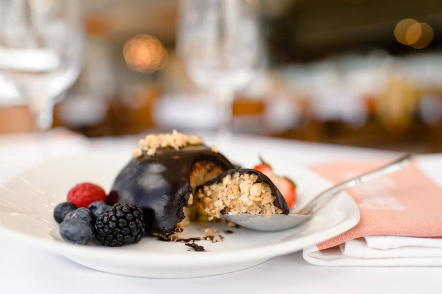 Plant-based cashew cheesecake from California Grill at Disney's Contemporary Resort - PHOTO VIA WALT DISNEY WORLD