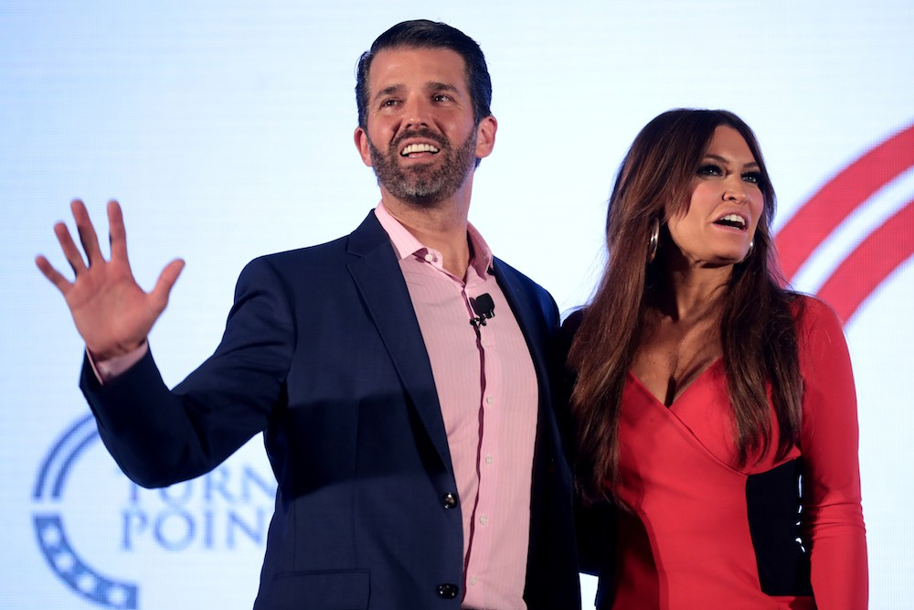 Donald Trump Jr. and Kimberly Guilfoyle will appear at the University of Florida