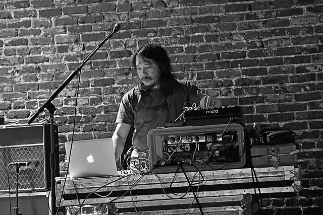 Toshi Kasai at the Social - JIM LEATHERMAN