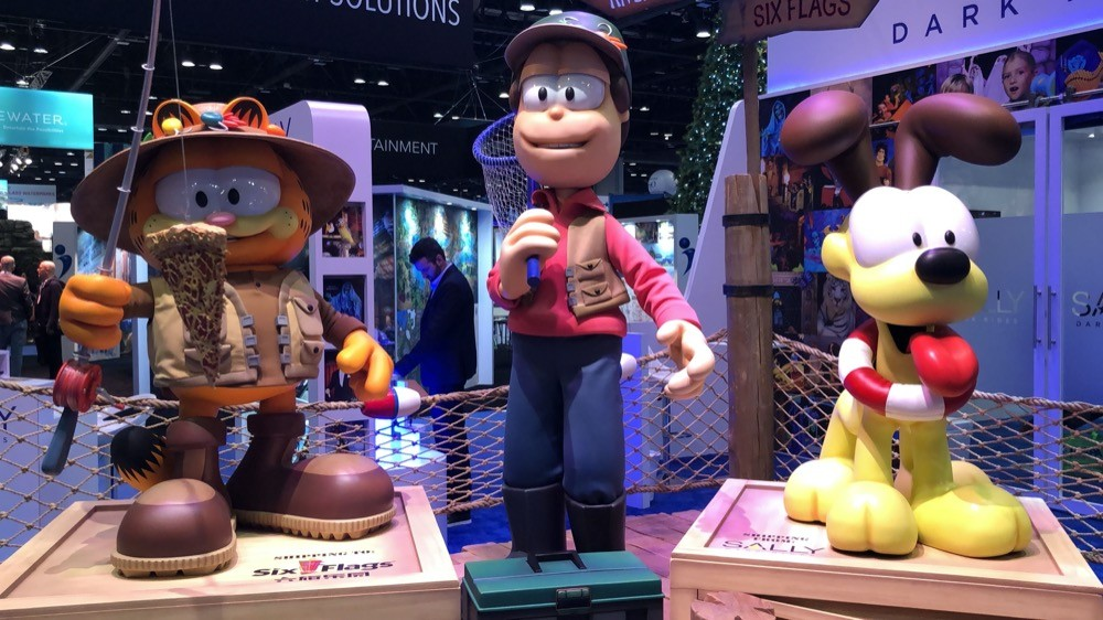 New roller coasters, new technologies and new forms of fried food at Orlando's annual IAAPA Expo