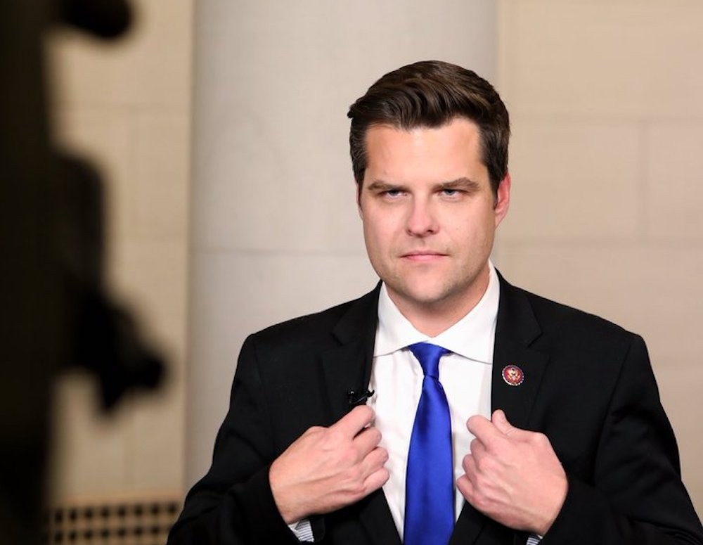 U.S. Rep. Matt Gaetz accused of creating sex game with 'points' for sleeping with staff