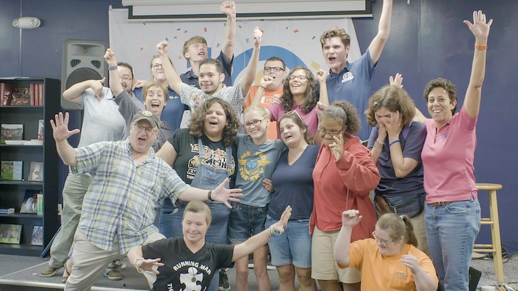 Dr. Phillips Center's and Second City's  improv workshop for special needs actors from OCA - PHOTO COURTESY DR. PHILLIPS CENTER