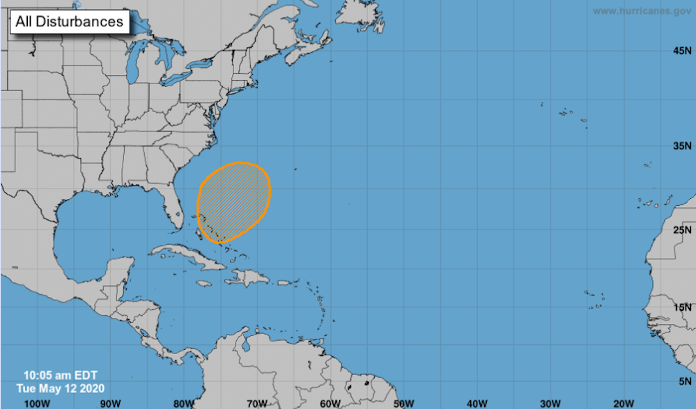 NHC: Formation of tropical system likely this weekend