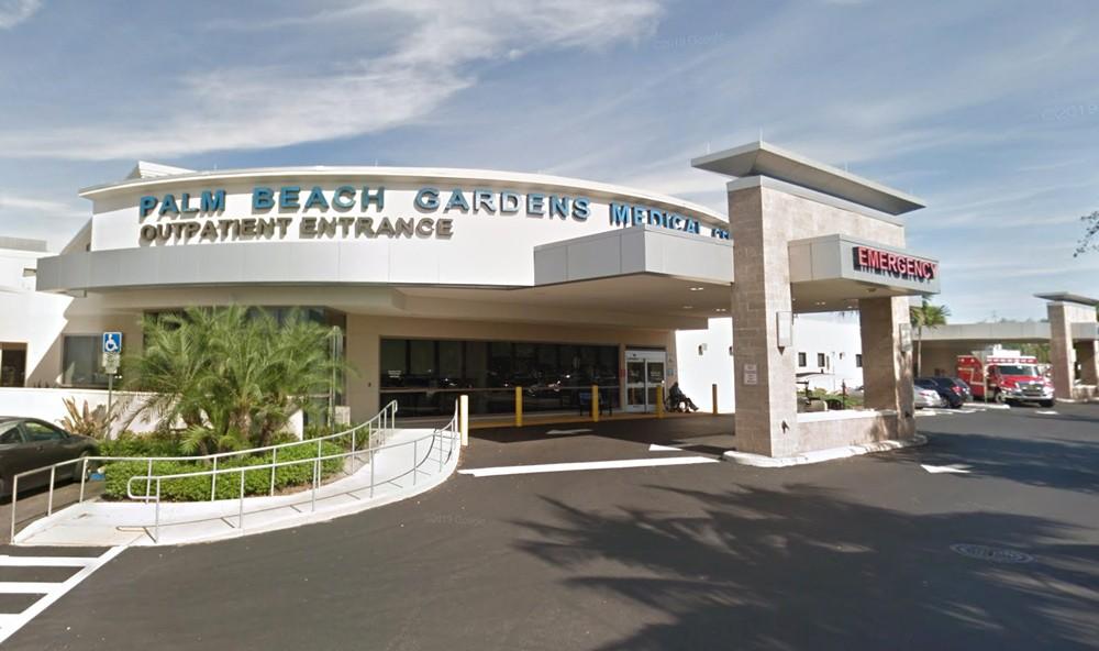Palm Beach Gardens Medical Center - IMAGE VIA GOOGLE MAPS