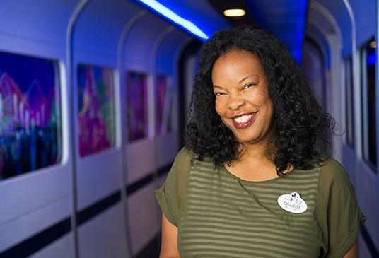 Charita Carter, Senior Creative Producer/Manager at Walt Disney Imagineering. - IMAGE VIA D23 | DISNEY