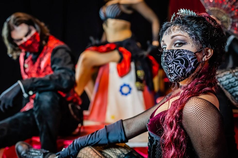 Halloween 2020 Theater Dates Orlando's most haunt tastic dance/theater troupe, Phantasmagoria