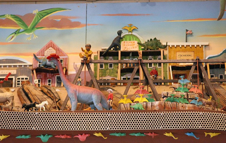Dinoland U.S.A., possibly not the best place to trip - PHOTO COURTESY DISNEY PARKS BLOG