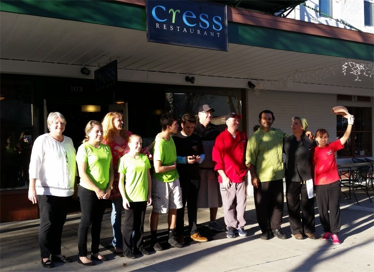 7 Courses, 7 Countries event at Cress Restaurant, DeLand, FL — Sunday, Feb. 26, 2017