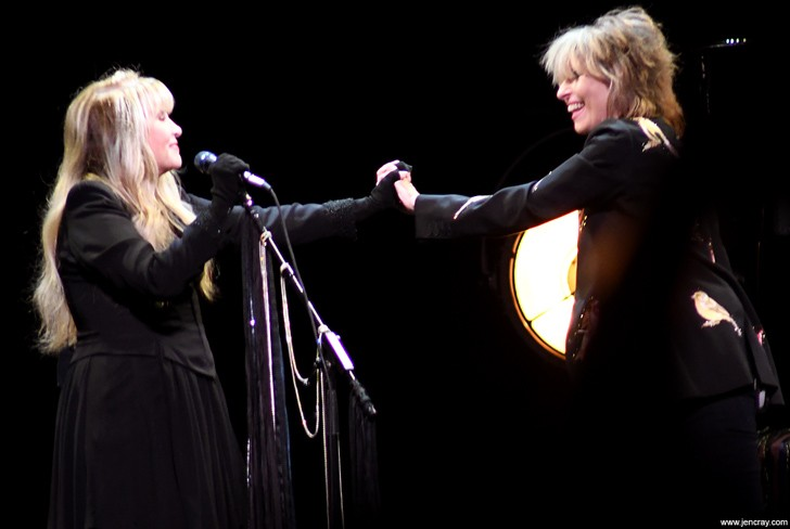 Stevie Nicks and Chrissie Hynde at Amway Center - JEN CRAY