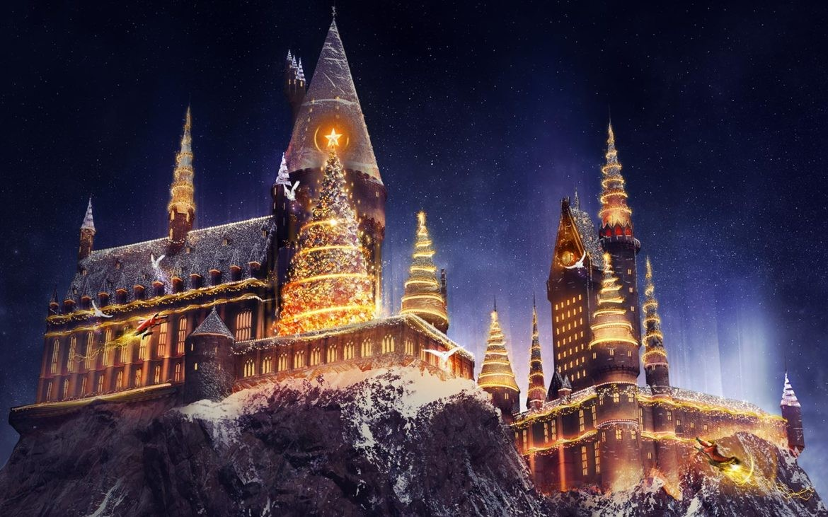 Harry Potter Christmas.Universal Orlando Offers New Harry Potter Holiday Events Blogs
