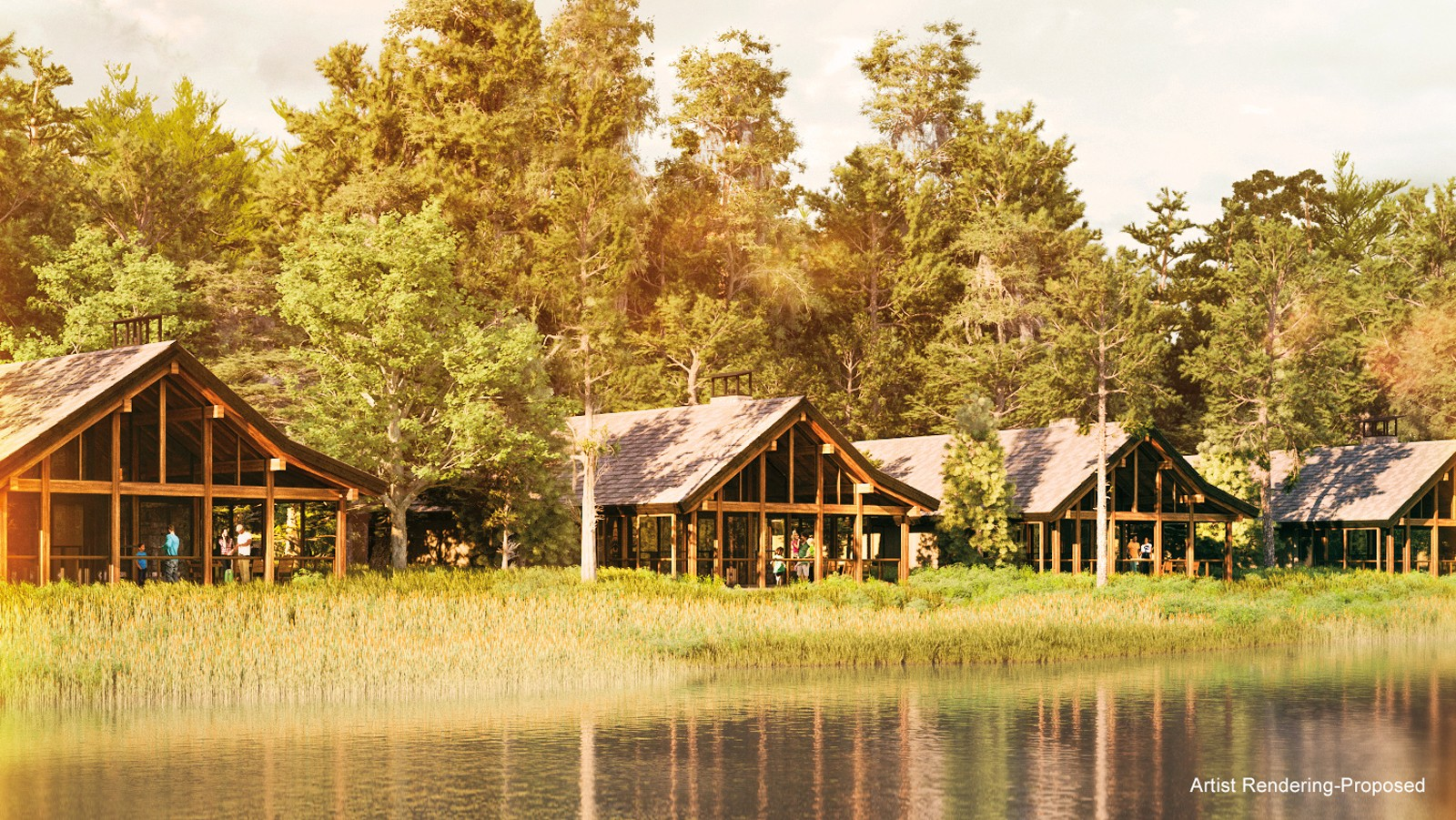 New Waterfront Cabins Coming To Disney S Fort Wilderness