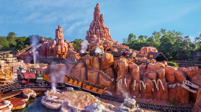 Big Thunder Mountain Railroad could help kidney-stone sufferers - IMAGE VIA DISNEY