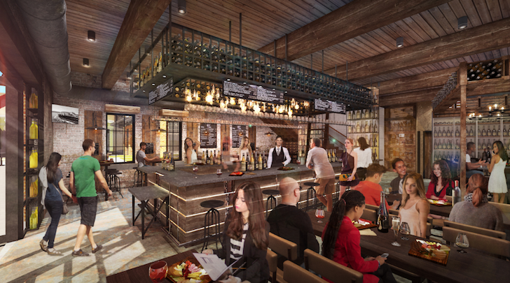 Wine Bar George concept art - PHOTO VIA DISNEY