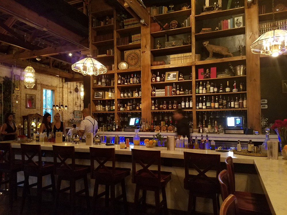 You won\'t find a better-looking throwback bar than Mathers Social ...