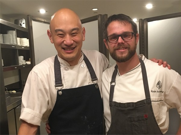 Chefs Tim Ma and Ryan Schelling
