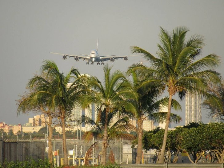 PHOTO BY FELIPE GALVEZ VIA MIAMI INTERNATIONAL AIRPORT - MIA/FACEBOOK